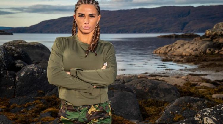 Katie Price Celebrity SAS Who Dares Wins Credit Channel 4