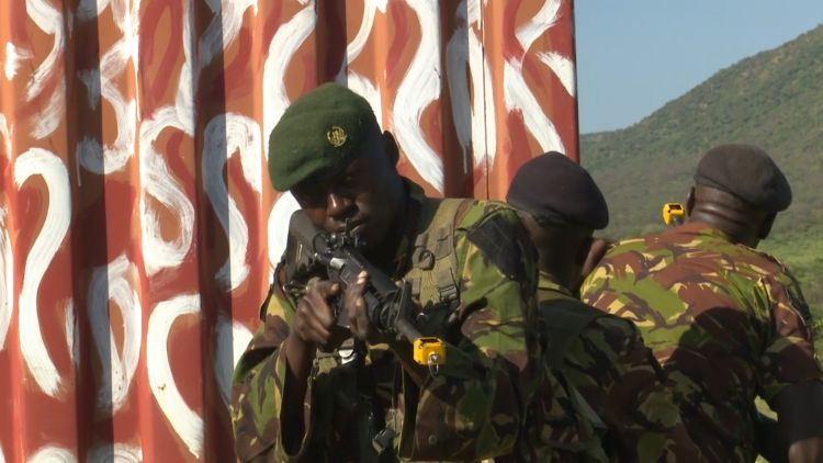 Kenyan forces during practical training with BPST in November 2019 used on 050320 CREDIT BFBS.jpg