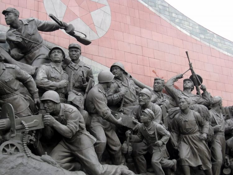 image by Stefan Krasowski Korean War Memorial in Pyongyang