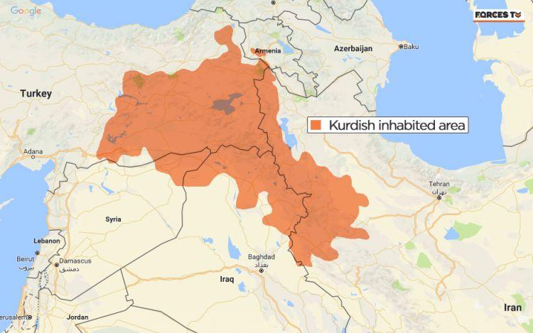 kurdish regions middle east