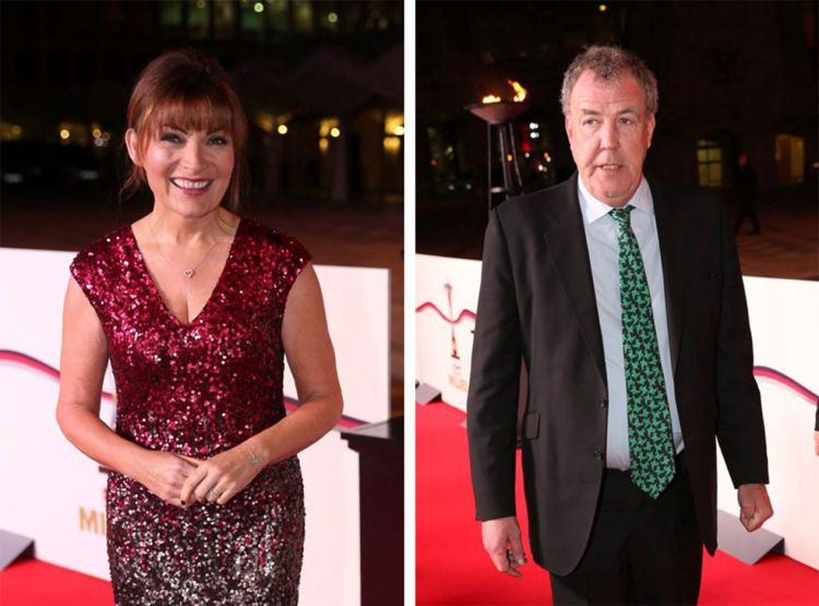 Lorraine Kelly & Jeremy Clarkson at the Millies 2016