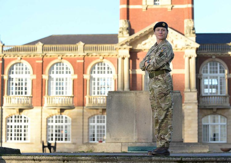 Lt Col Lucy Giles RLC, New College Commander Royal Military Academy Sandhurst