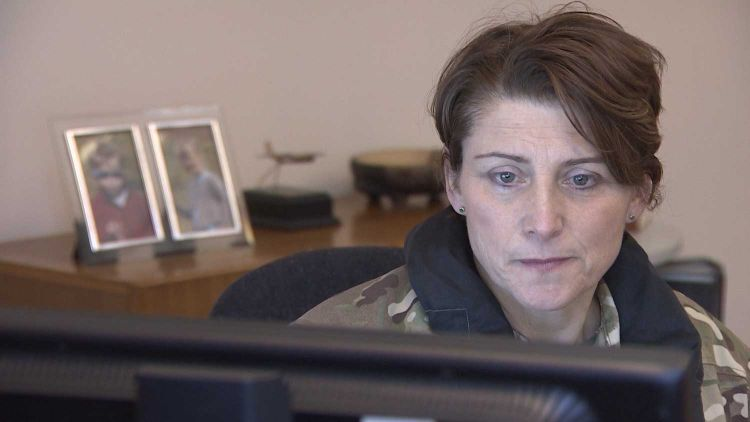 Lt Col Lucy Giles is hoping to be a role model to female soldiers and officers