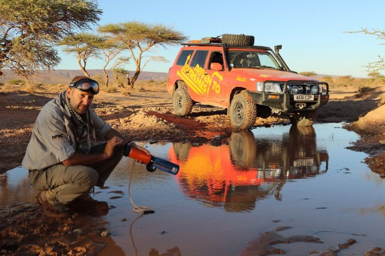 Mac Mackenney Driven To Extremes Charity PTSD Desert 4x4 Credit: Driven To Extremes