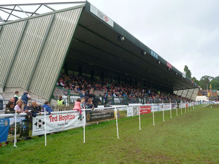 Main stand Royal Welsh Show