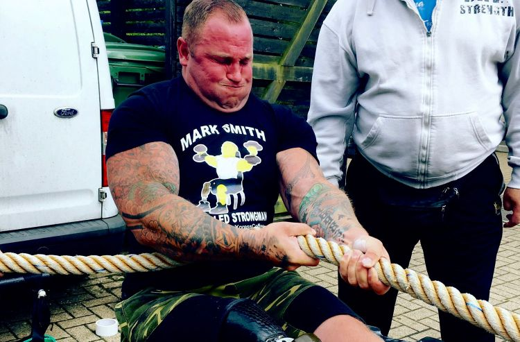 From Soldier To Bodybuilder To Strongman To The World Cup