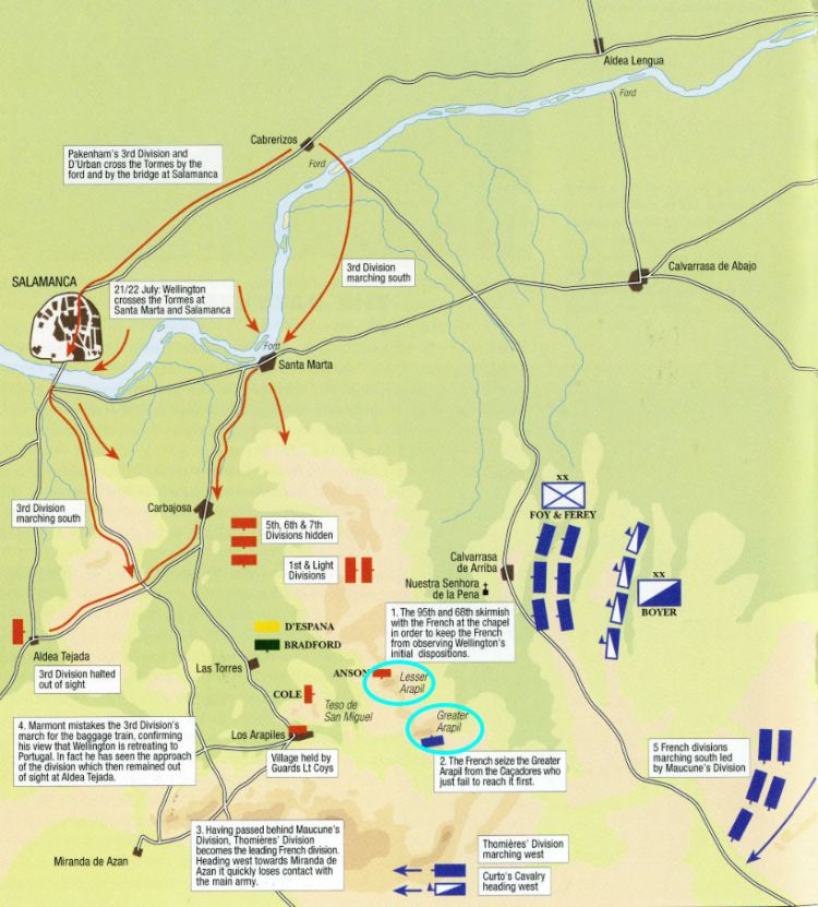 Spies And Sabres: How Wellington Won At Salamanca