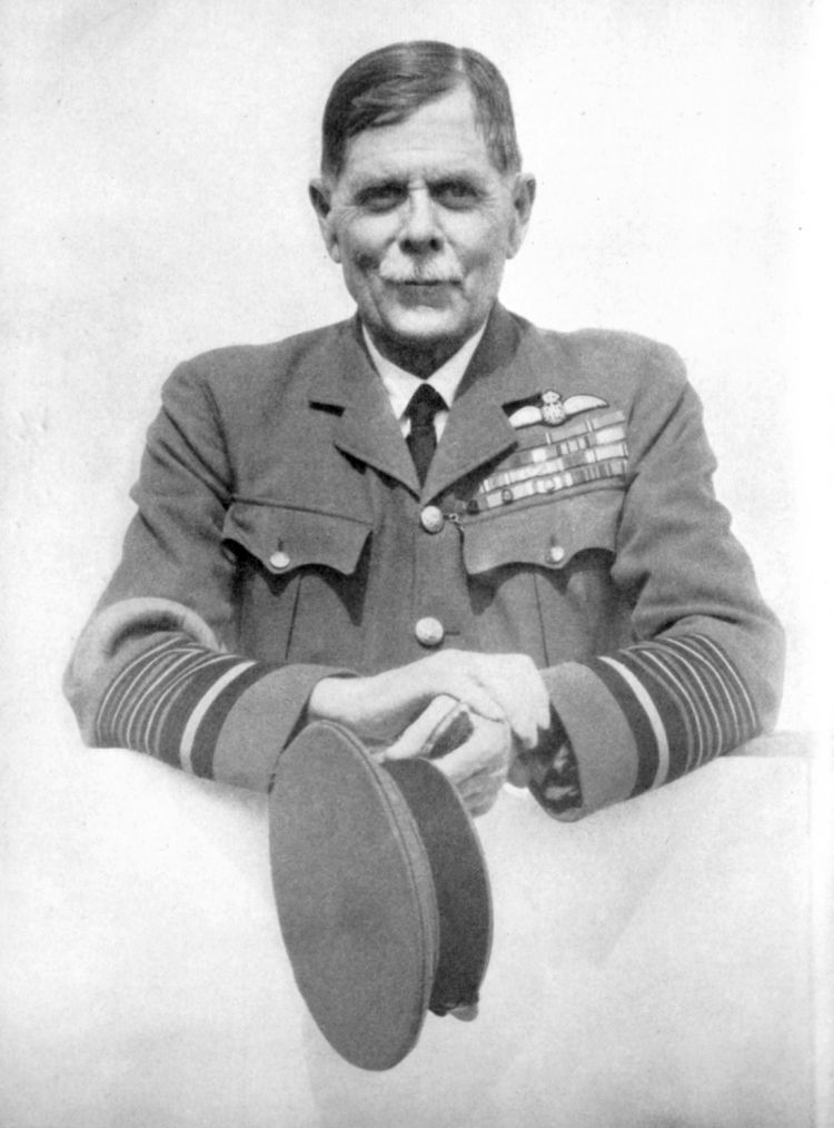 RAF first marshal of the RAF