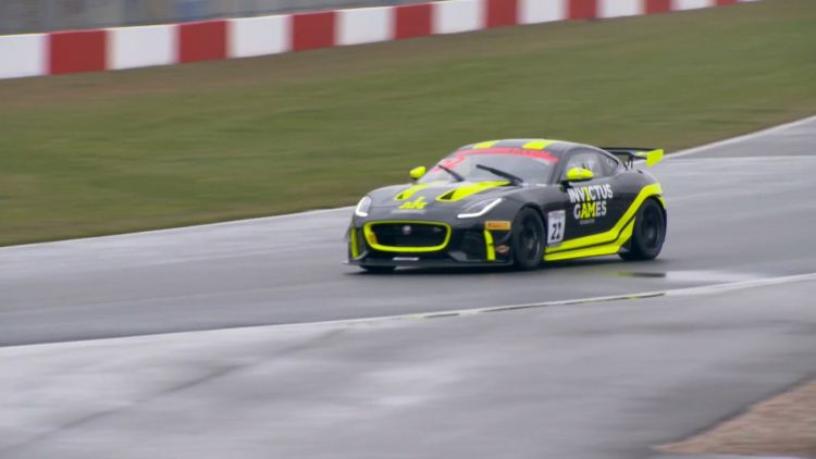 Invictus Athletes Finally Get Behind Wheel Of Jaguar Supercars