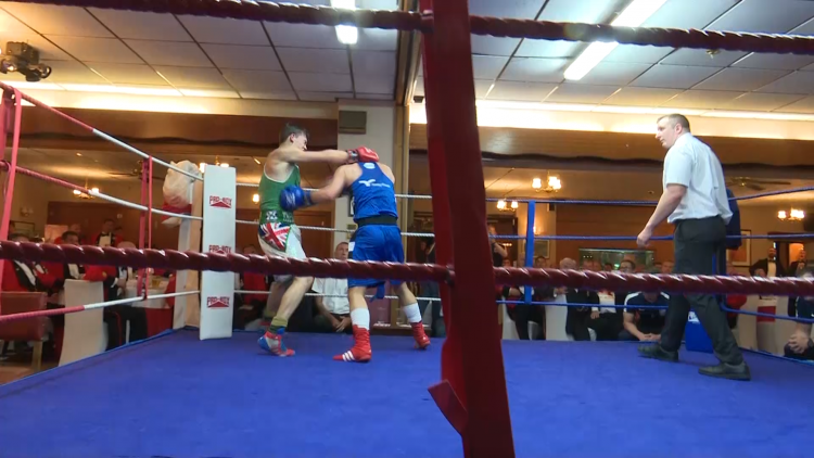Civvies Boxers Take On The Military In Bouts Honouring The Falklands War