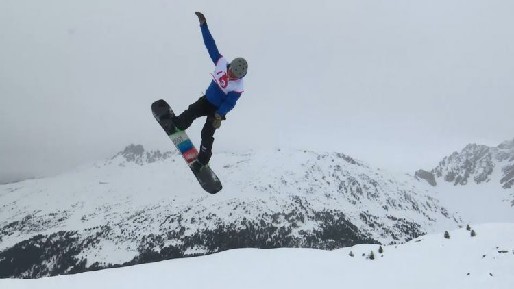 Meribel Day Five Snowboard Slopestyle Credit BFBS