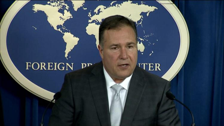 The US Assistant Secretary for Diplomatic Security, Michael Evanoff (Picture: US Department of Defense).
