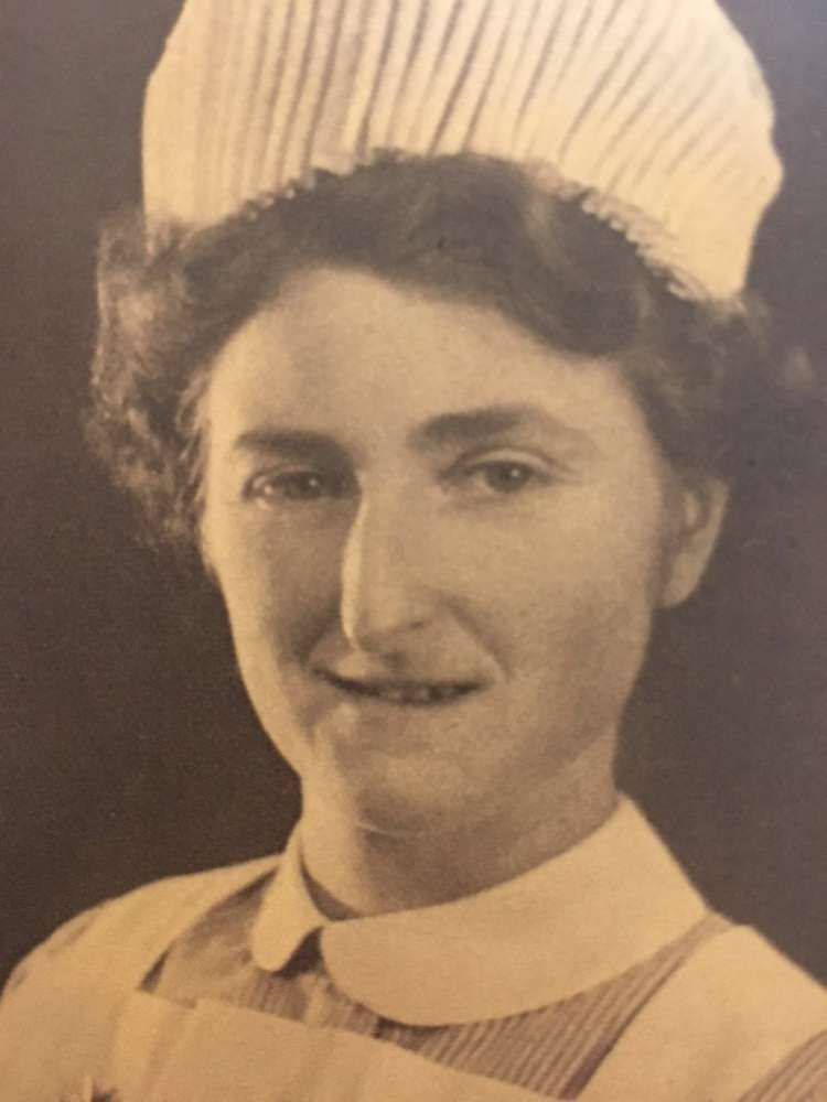 Mrs Powell as a Nurse