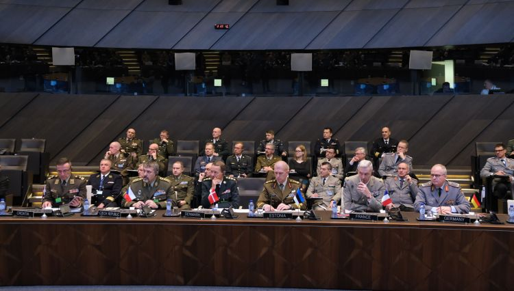 NATO defence chiefs met in Brussels on Wednesday (Picture: NATO).
