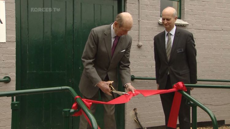His Royal Highness the Duke of Kent Opens Hut 11A