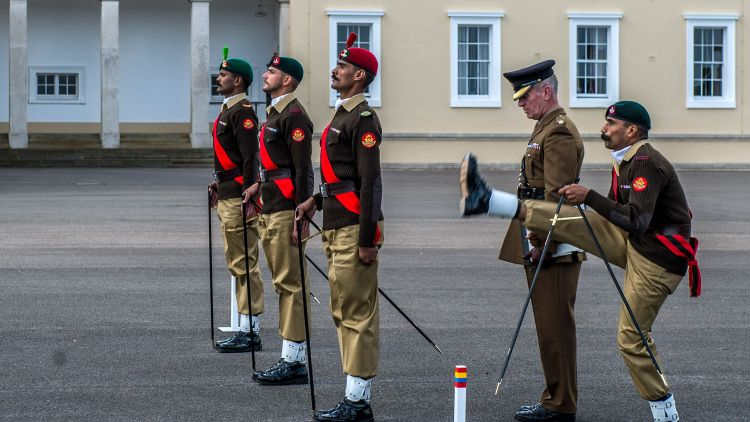 Pace Sticking Pakistan Military Academy Royal Military Academy Sandhurst RMAS World Pace Sticking Championships Defence Imagery News License