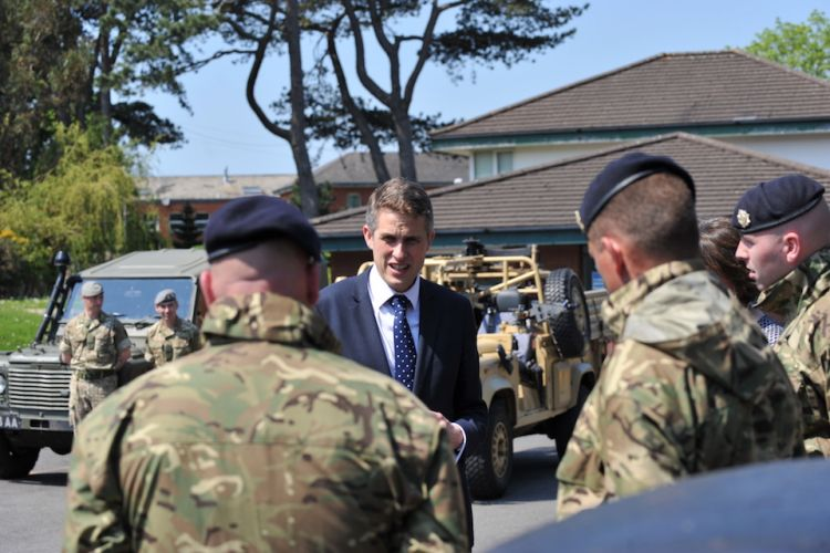 Defence Secretary Gavin Williamson has been arguing for more money to be allocated to the MoD from the Treasury.