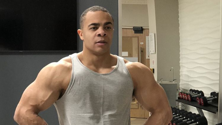 Nathaniel Shaw Muscles Gym Working Out Fitness SAS Who Dares Wins DO NOT USE AGAIN