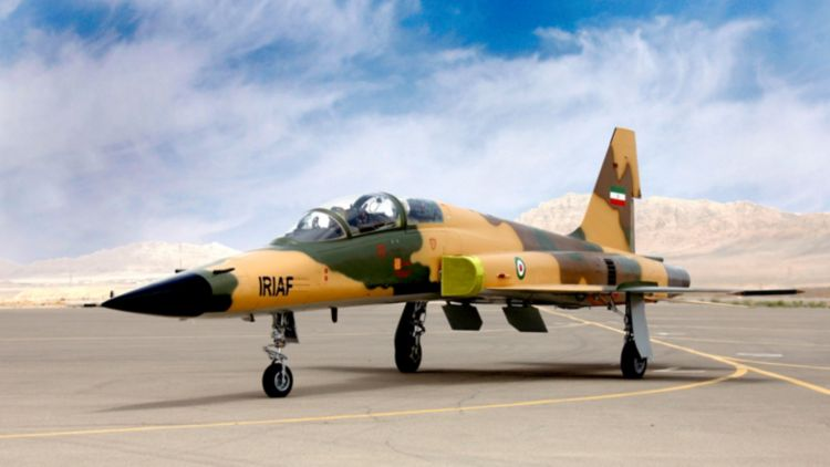 Iran's first domestically-built advanced 'Kowsar' fighter