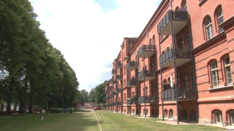 Former Oldenburg barracks in Germany is converted into flats