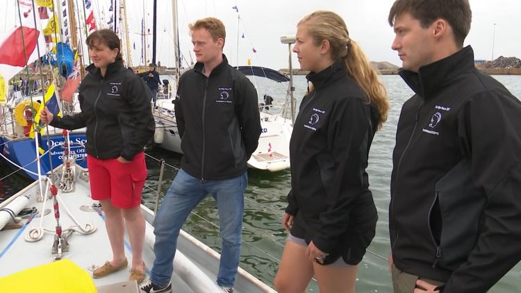 Army sailing team at Tall Ships Race in Sunderland