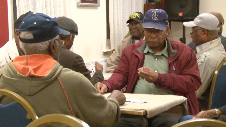 Windrush veterans at ex servicemens club