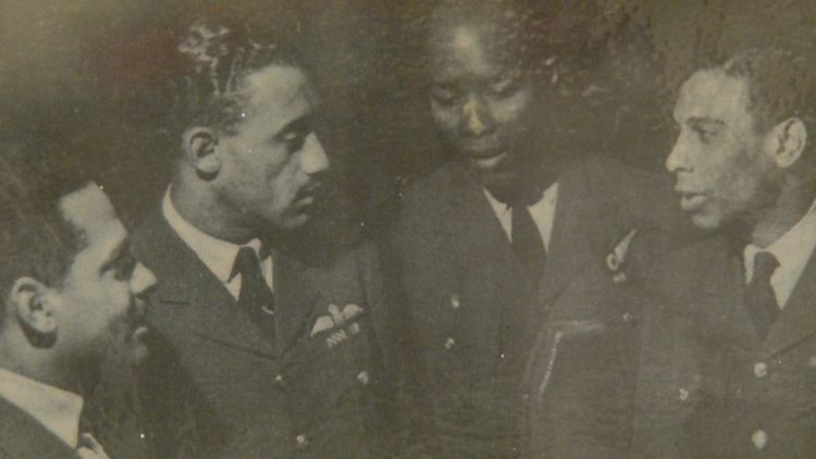 West Indian aircrew in RAF during Second World War