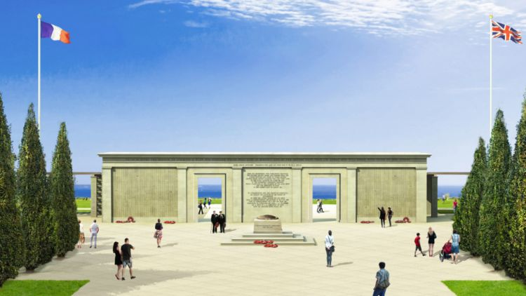 An artistic impression of the memorial (Picture: Liam O'Connor Architects & Planning Consultants).