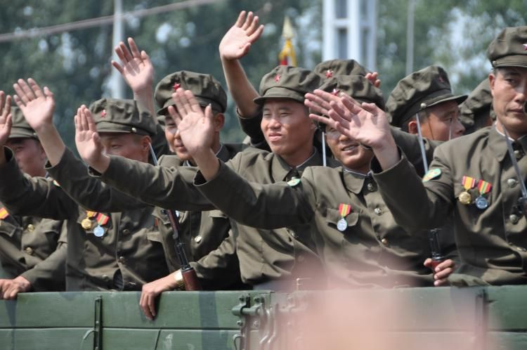 North Korean Young Red Guards