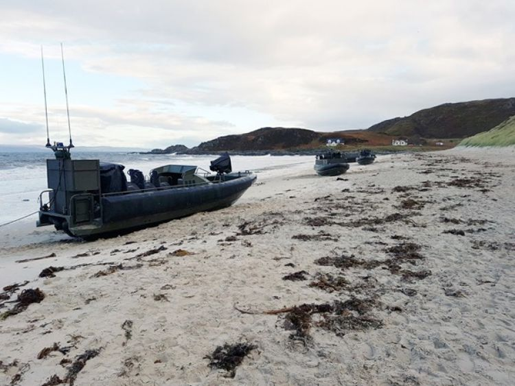 ORC's beached at Mallaig