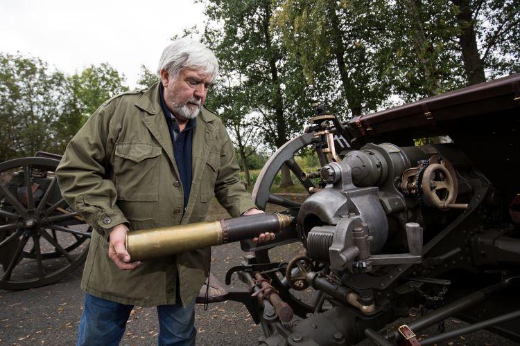 john slough Passchendaele gun salute