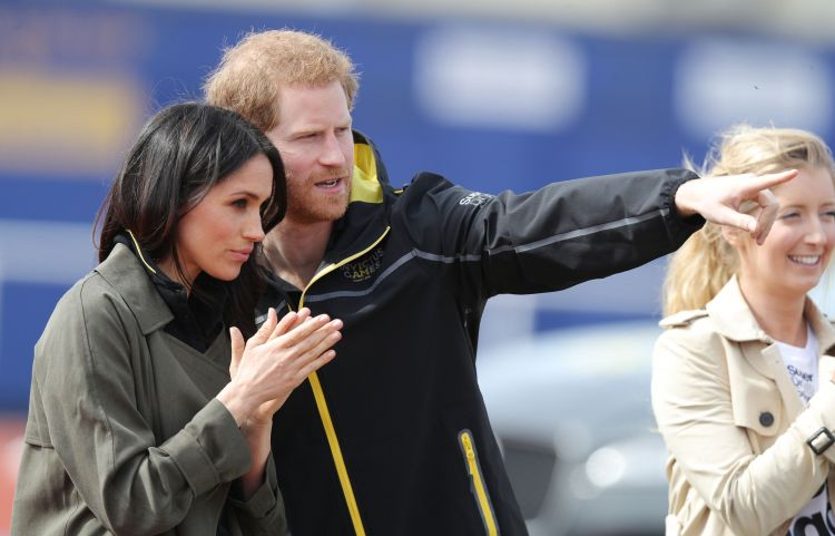 Prince Harry And Meghan Markle Attend Invictus Games Trials