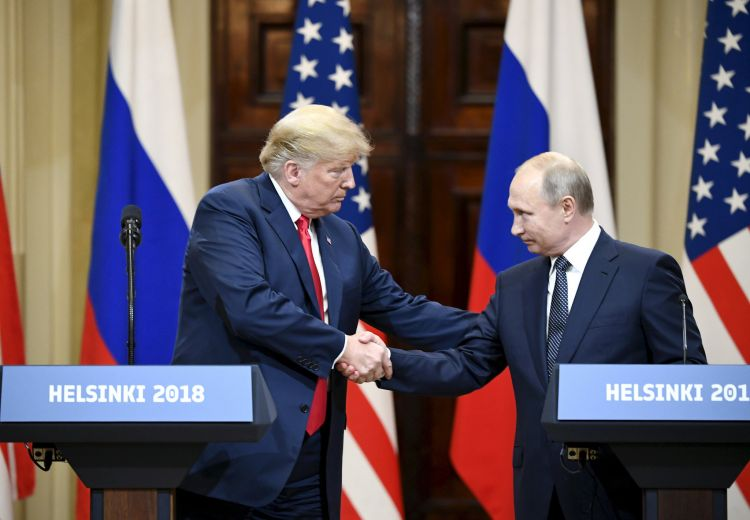 Trump and Putin (Picture: PA).