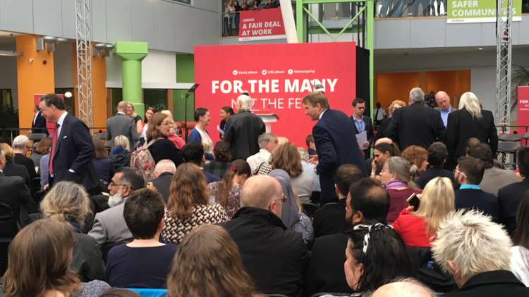 Labour Launch Election Manifesto