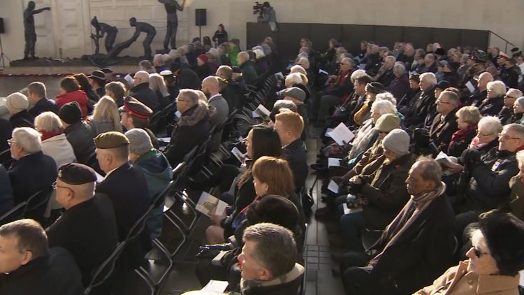 People attend remembrance service at nma 111119 CREDIT BFBS.jpg