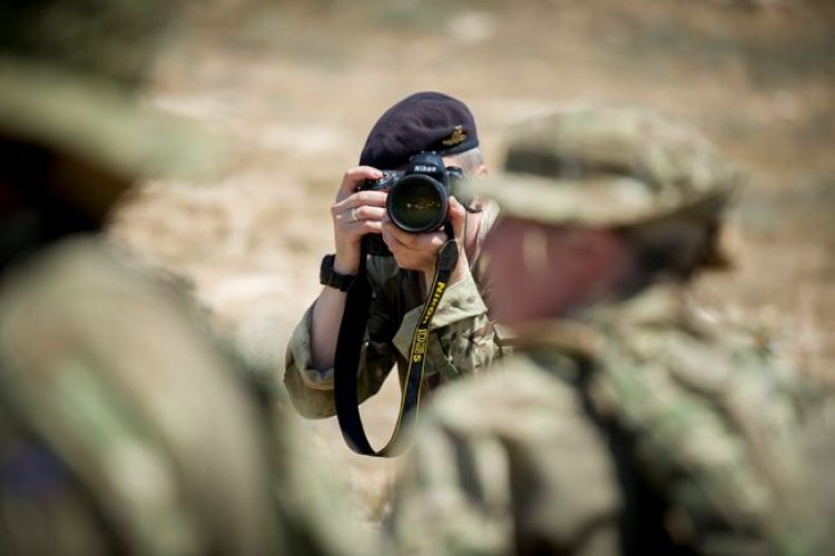 Army Photographer - pic MoD