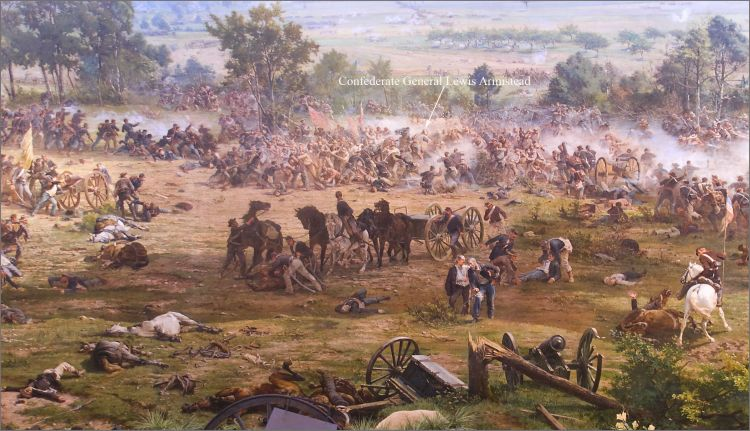 Pickett's Charge (image: Paul Philippotea)