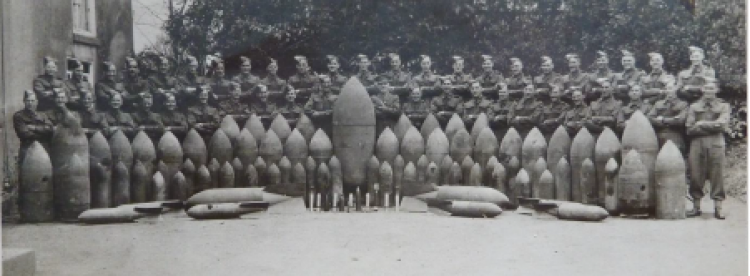 Plymouth Royal Engineers bomb disposal World War 2