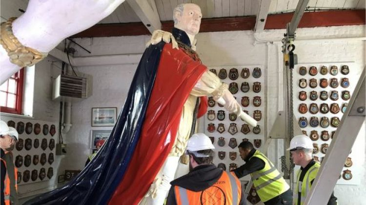 Plymouth figurehead 3 290419 CREDIT Crown Copyright.jpg