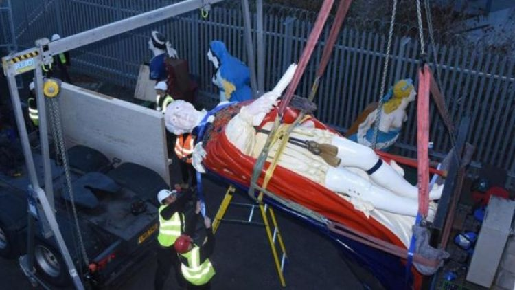 Plymouth figurehead 4 290419 CREDIT Crown Copyright.jpg
