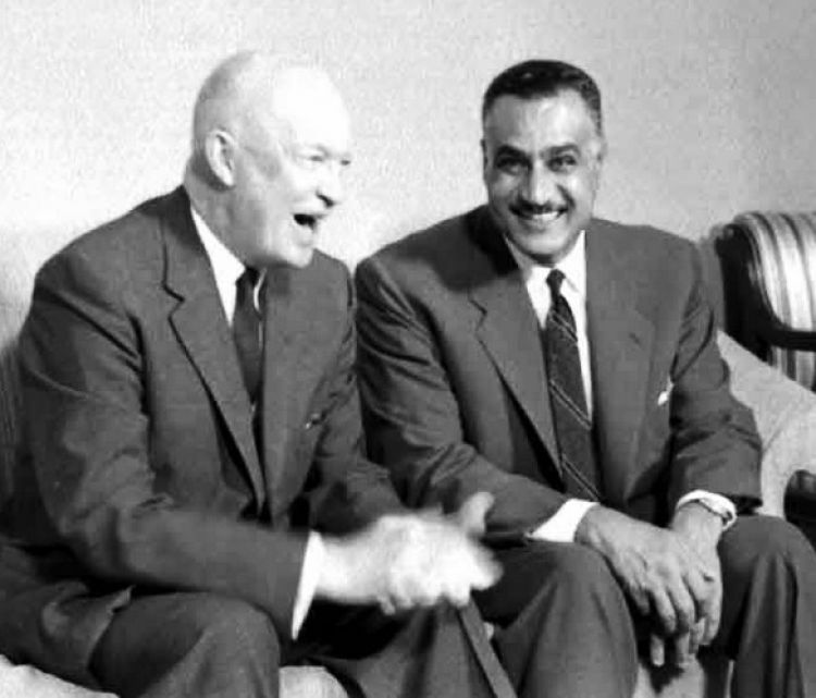 Presidents Eisenhower & Nasser
