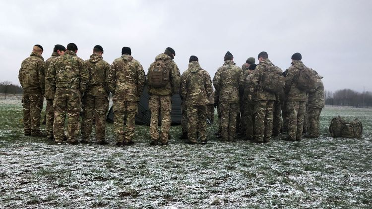 Queen's Royal Hussars QRH Soldiers Estonia Credit BFBS