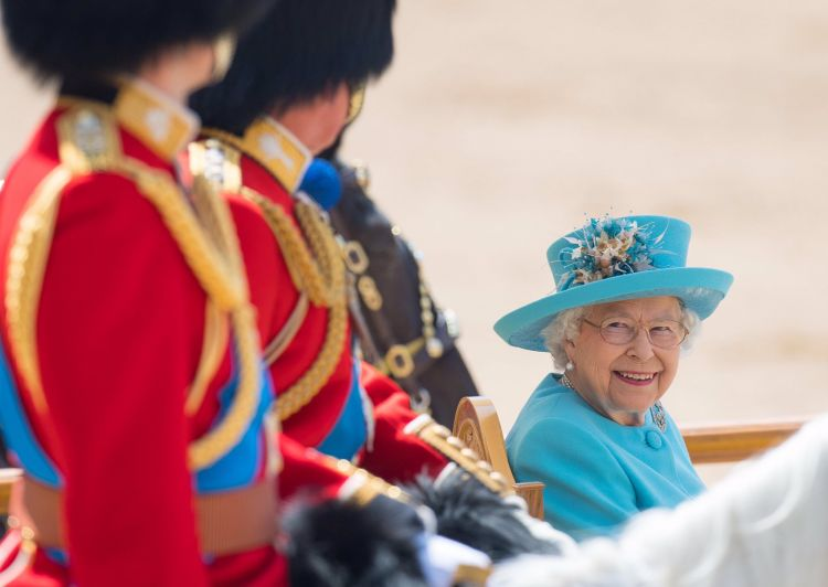Trooping the Colour ceremony marks the Queen's birthday. Picture: PA