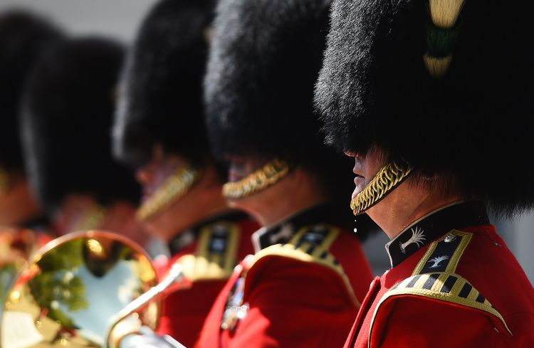 Providing the Queen's Guard usually falls to the Guard's Division (Picture: PA).