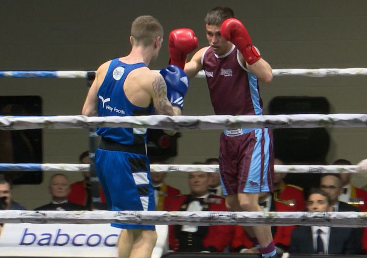 RAF boxer 2018 British military Inter-Services Championships