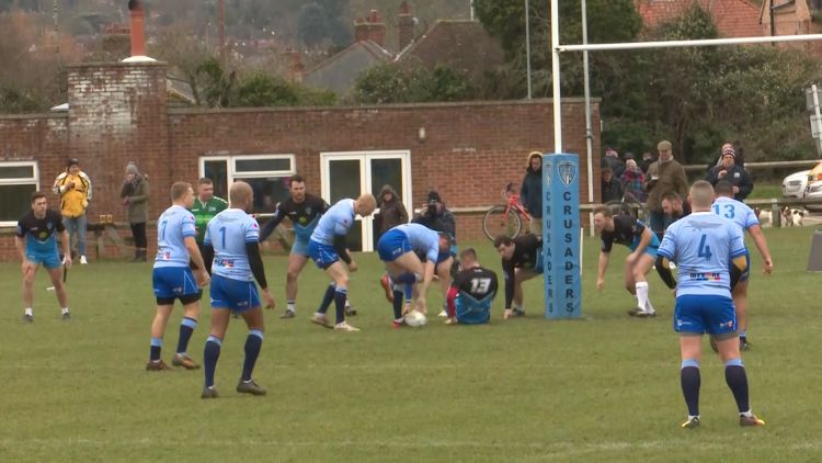 RAF North Herts Rugby League Credit BFBS