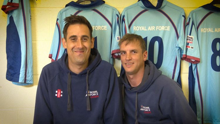 RAF pre-Inter-Services T20 dressing room chat