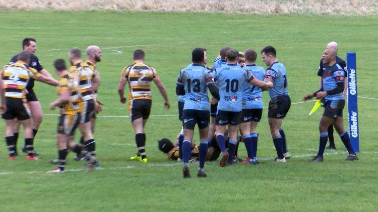 RAF rugby league Challenge Cup Win vs Drighlington 2018