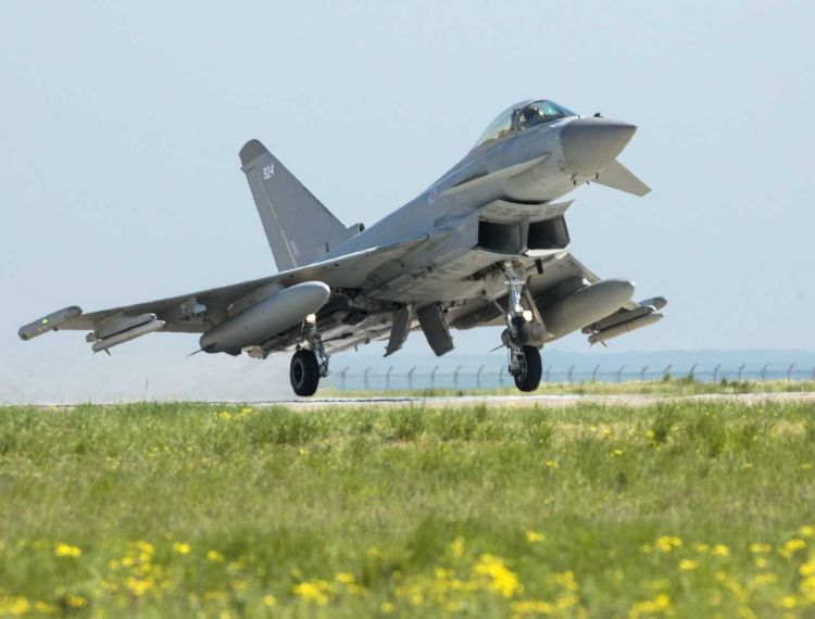 Last year it was reported that a deal for Saudi Arabia to buy 48 Typhoons from the UK was edging closer (Picture: MOD).