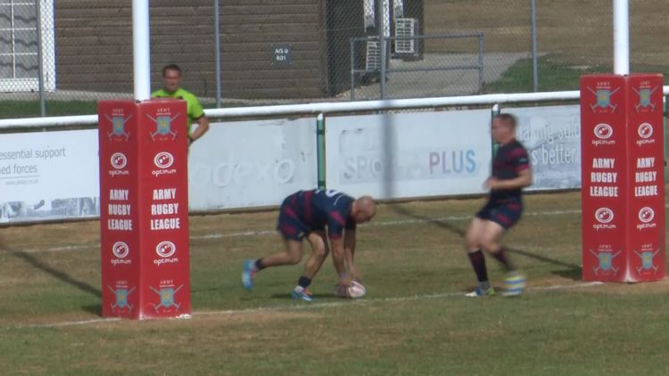 Sappers winger Tom Lloyd concluded with a converted try and a 6-4 lead